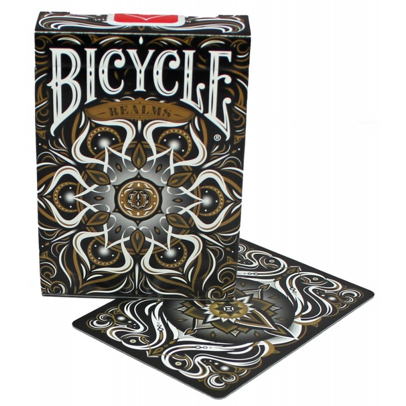 Black Realms playing cards
