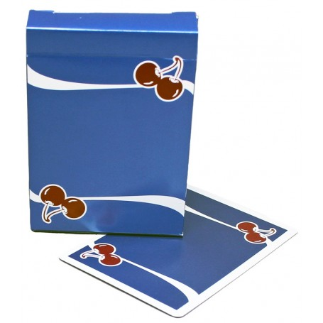 Cherry playing cards (Tahoe Blue)