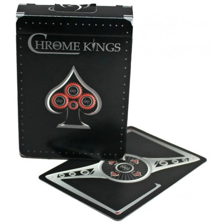 Chrome Kings playing cards
