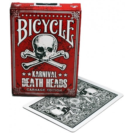 Bicycle Karnival Death Heads (Carnage Edition)