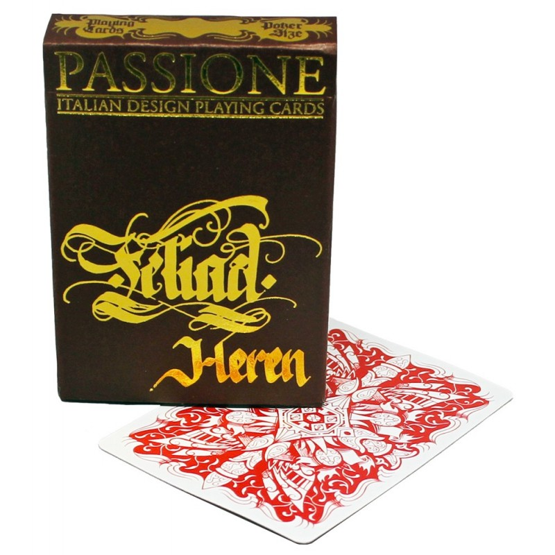 Legends Teliad Heren playing cards