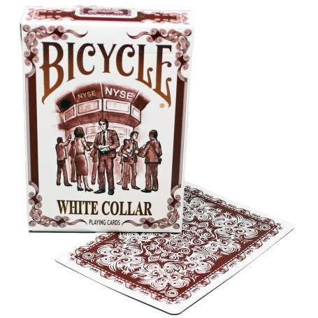 Bicycle White Collar playing cards