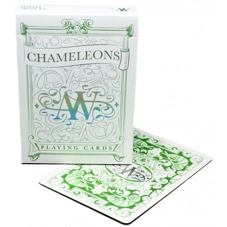 EPCC  Green Chameleons playing cards