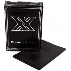 USPCC  Double Black XX playing cards