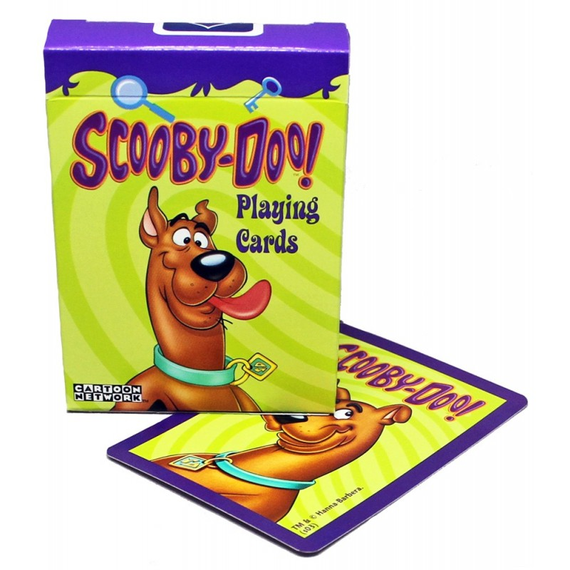 Scooby-Doo playing cards
