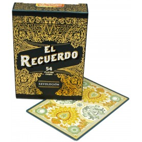 NPCC El Recuerdo (Black) playing cards