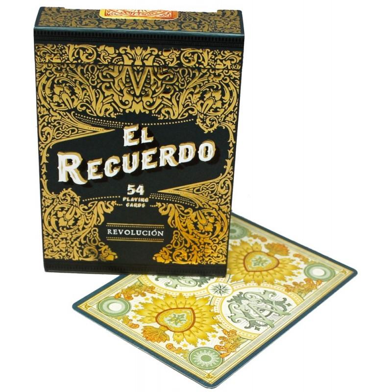 NPCC El Recuerdo (Black) playing cards