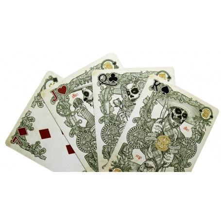 El Recuerdo (White) playing cards