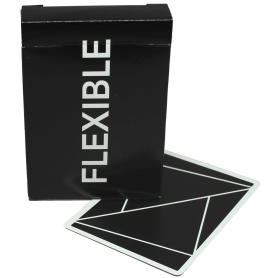TCCPC Flexible (Black) playing cards