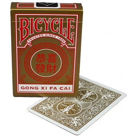 Bicycle  Gong Xi Fa Cai playing cards