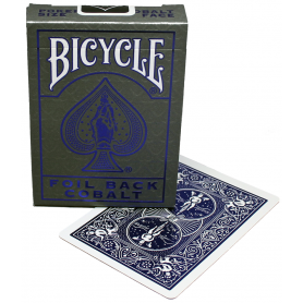 Bicycle Foil Back v2 (Cobalt)