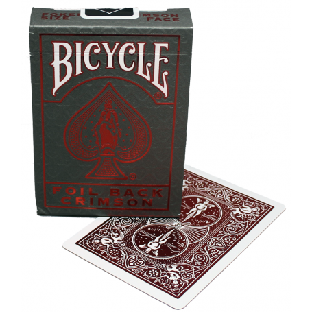 Bicycle Foil Back v2 (Crimson)