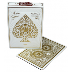 USPCC White Artisan playing cards