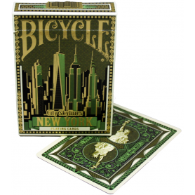 Bicycle New York City Skylines playing cards