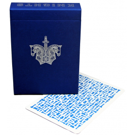 Cartamundi  Knights blue Deck playing cards