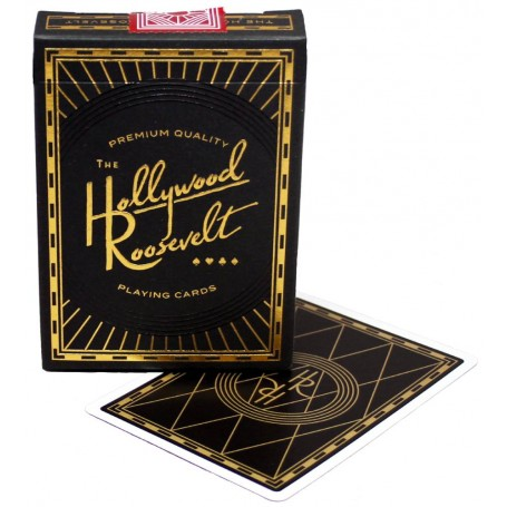 USPCC Hollywood Roosevelt playing cards