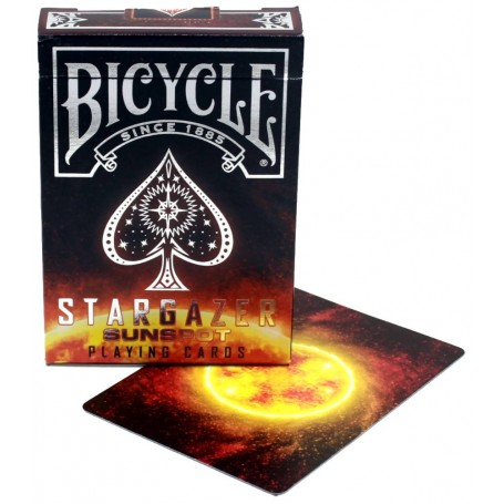 Bicycle Stargazer Sunspot playing cards