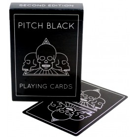 Cartamundi Pitch Black V2 playing cards