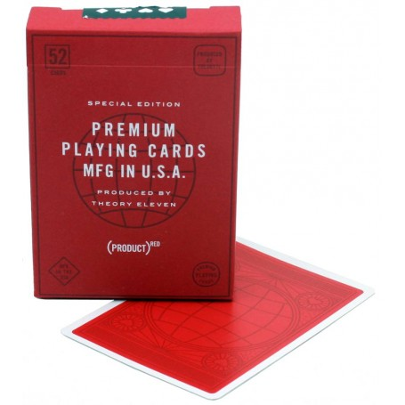 USPCC (PRODUCT) RED playing cards