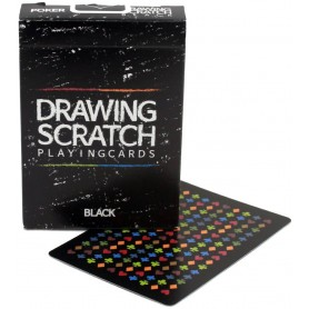 USPCC Drawing Scratch playing cards