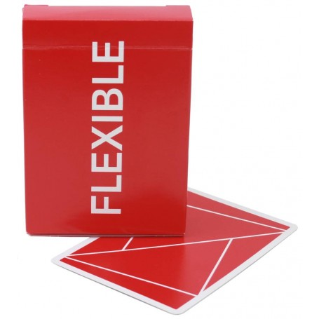 USPCC Flexible (Red) playing cards