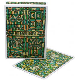 Cartamundi Bloodlines (Emerald Green) playing cards