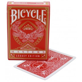 Bicycle Red Legacy Masters playing cards