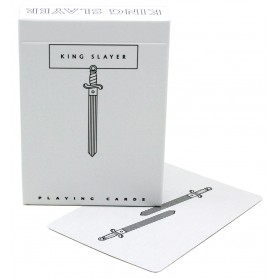 Cartamundi King Slayers White playing cards