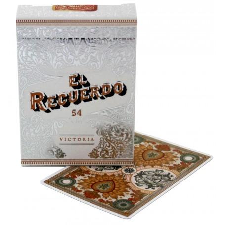 NPCC El Recuerdo (White) playing cards
