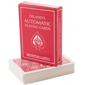 DeLands, The Automatic Deck-Red Edition (Marked)