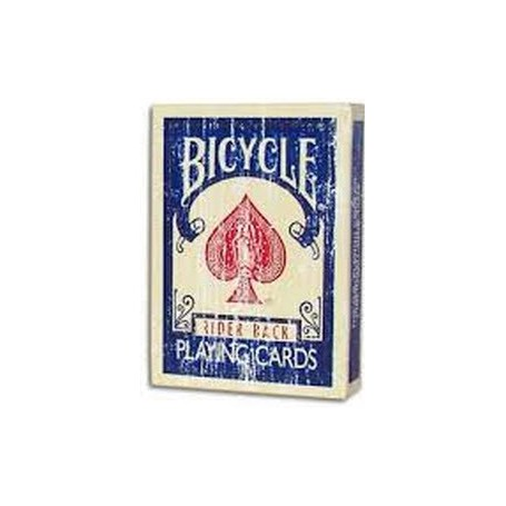 Bicycle Faded Rider Back